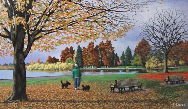 Green Lake November Art | Fountainhead Gallery
