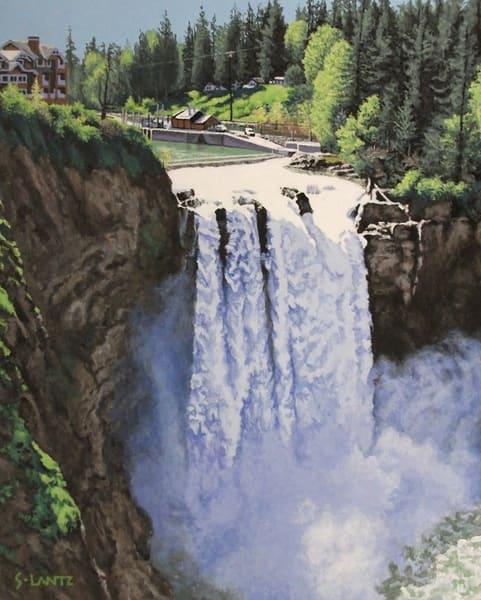 Snoqualmie Falls Art | Fountainhead Gallery