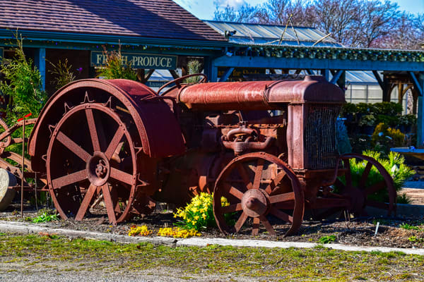 Old Tractors Never Die by Keith R Wahl, Made From RI