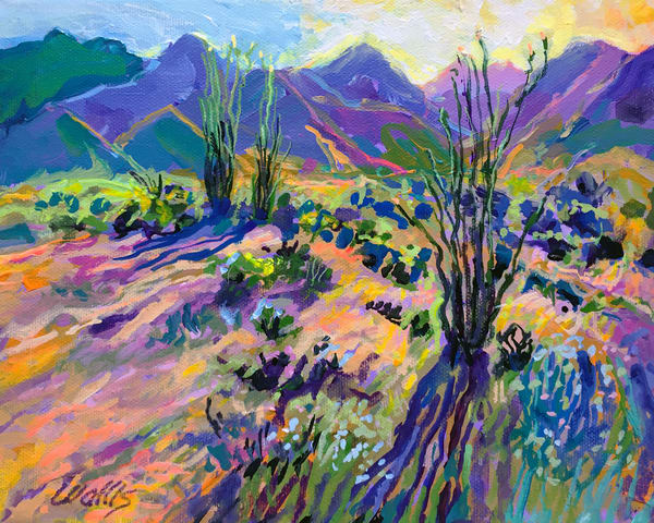 High Desert Foothills  Art | Charles Wallis