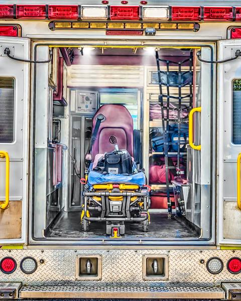 Ambulance 1 Art   DanSun Photo Art