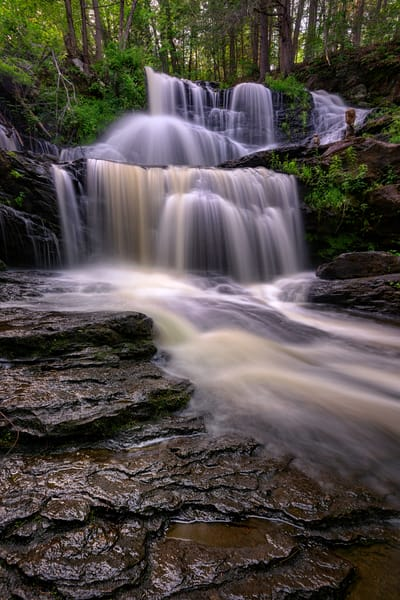 Summer Flow at Garwin Falls | Shop Photography by Rick Berk