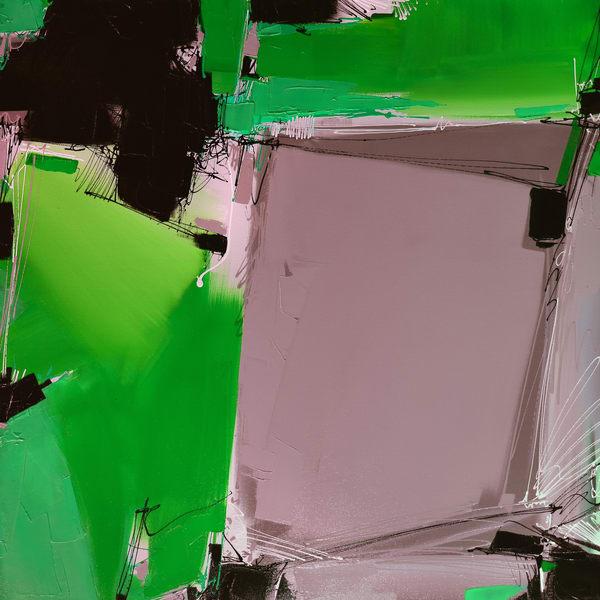 Quartertone In Green Art | Michael Mckee Gallery Inc.