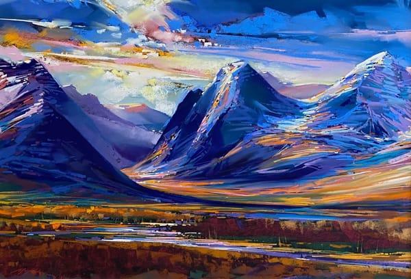 Teton Indigo Art | Michael Mckee Gallery Inc.