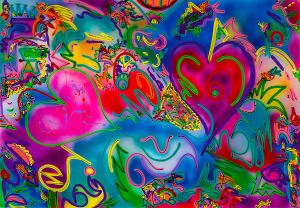 """Hearts In Motion"" Art 