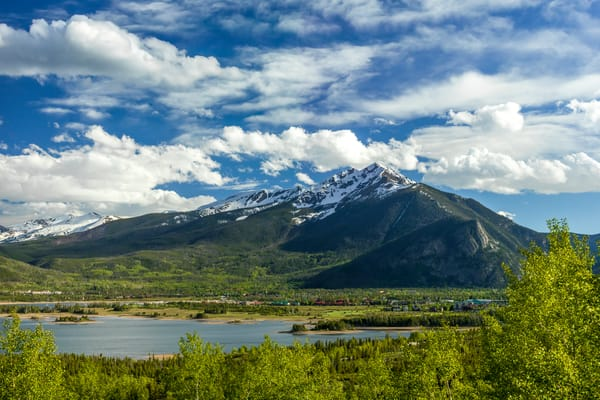 Ten Mile Range & Lake Dillon, Frisco, Colorado, Spring