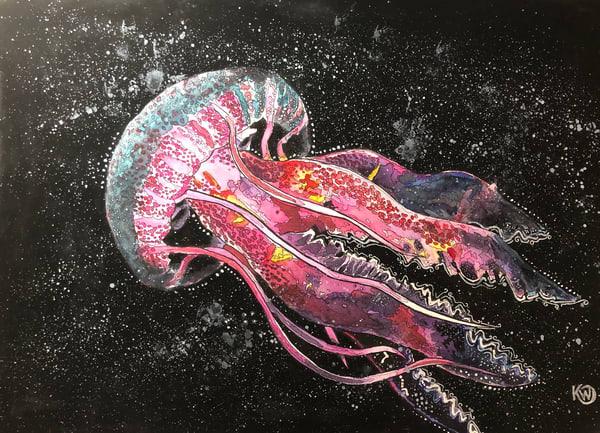 Jellyfish Art | Water+Ink Studios