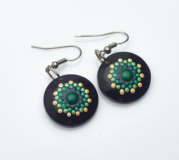 Great Mini Circle Earrings (E)