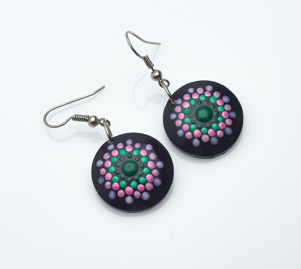 Mesmerizing Mini Circle Earrings (G)