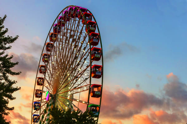 Minnesota State Fair 3 - Ferris Wheel Photographs