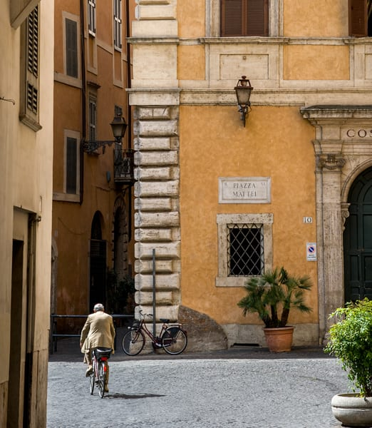 Bicycling In Rome Photography Art | Ben Asen Photography