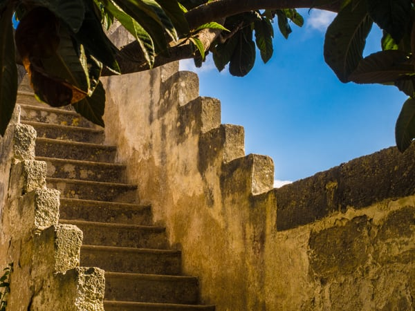 Carlo's Steps, Vitigliano, Italy/sold by Ben Asen Photography