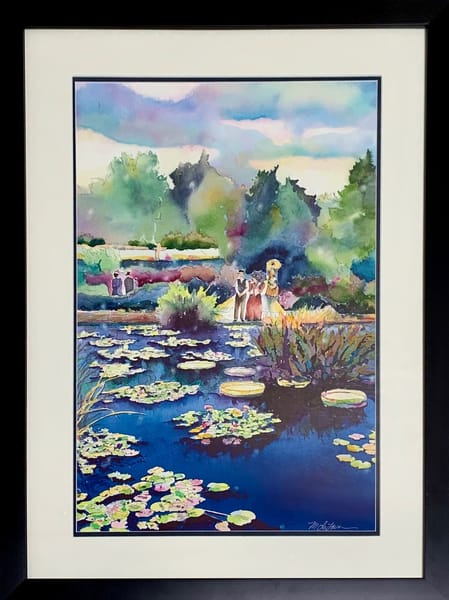 Monet Pond Art | Mickey La Fave