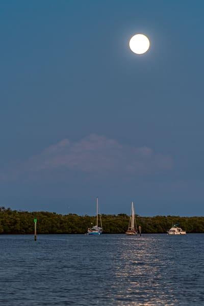 Moonrise Over Matanzas Pass Photography Art   Gingerich PhotoArt
