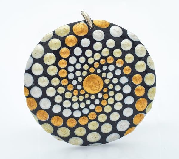 Swirled Circle Pendant (E)