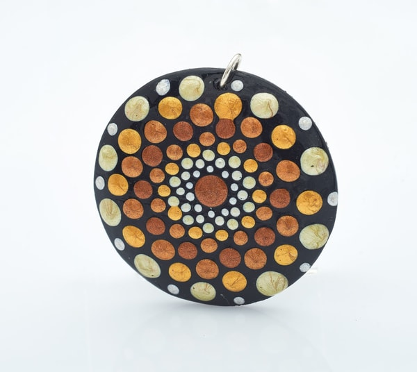 Circular Circle Pendant (F)