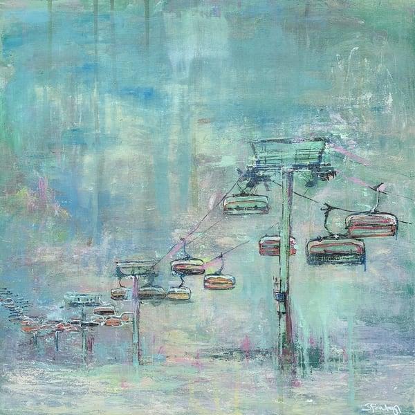 Ski Lift Ix Art | Atelier Steph Fonteyn