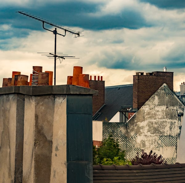 Paris Rooftop/sold by Ben Asen Photography