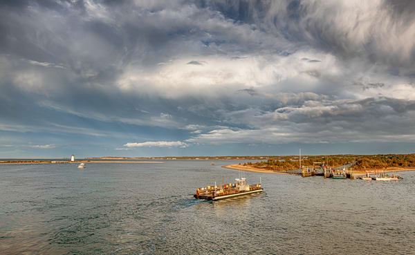 Chappy Ferry Clouds Photography Art | Michael Blanchard Inspirational Photography - Crossroads Gallery