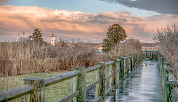 Edgartown Light After The Storm Art | Michael Blanchard Inspirational Photography - Crossroads Gallery