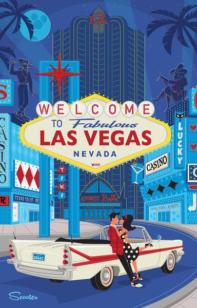 Vegas Baby Print