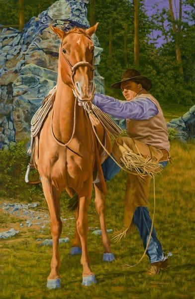 Raymond Wattenhofer Original Art Painting Pending Storm