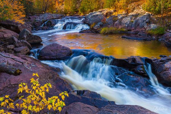 Autumn Reflections Photography Art | brucedanz