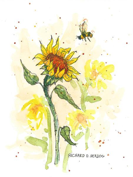 Bee 1 Art | Cincy Artwork