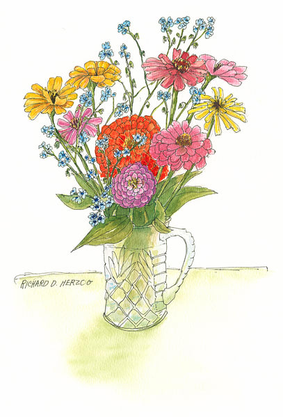 Flowers Art | Cincy Artwork