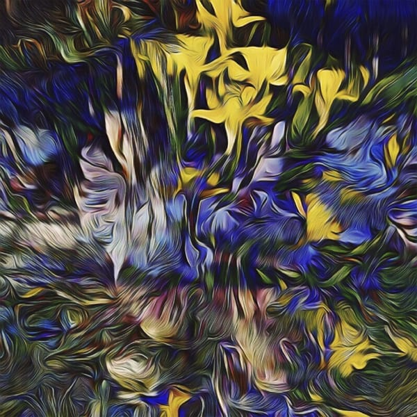 Spring Flowers Original Art | Maciek Peter Kozlowski Art