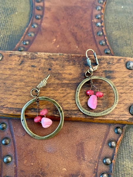 Brassy & Classy Earrings Art | Mickey La Fave