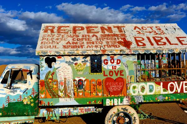 Salvation Mountain Truck Art | Shaun McGrath Photography