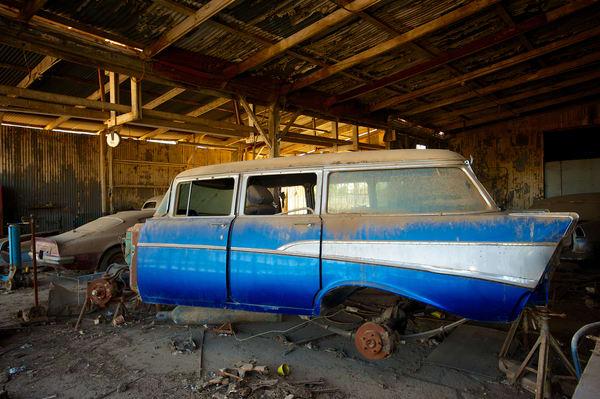 Abandoned Chevy Restoration Art | Shaun McGrath Photography