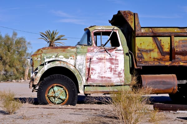 Abandoned Dump Truck Art | Shaun McGrath Photography
