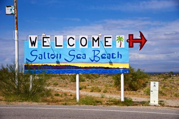 Welcome To Salton Sea Beach Art | Shaun McGrath Photography