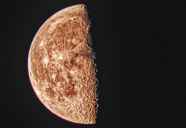 Waning Gibbous Moon of April 14, 2020 by Keith R Wahl, Made From RI Gallery