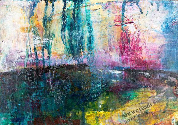 The Colour Of Rain Ii Art | Éadaoin Glynn