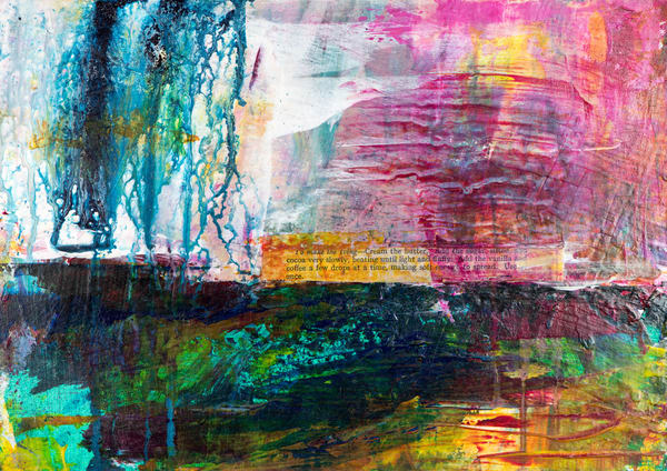 The Colour Of Rain Iii Art | Éadaoin Glynn