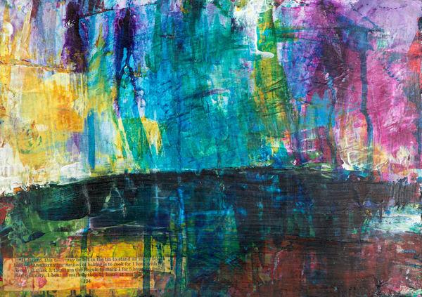 The Colour Of Rain Iv Art | Éadaoin Glynn
