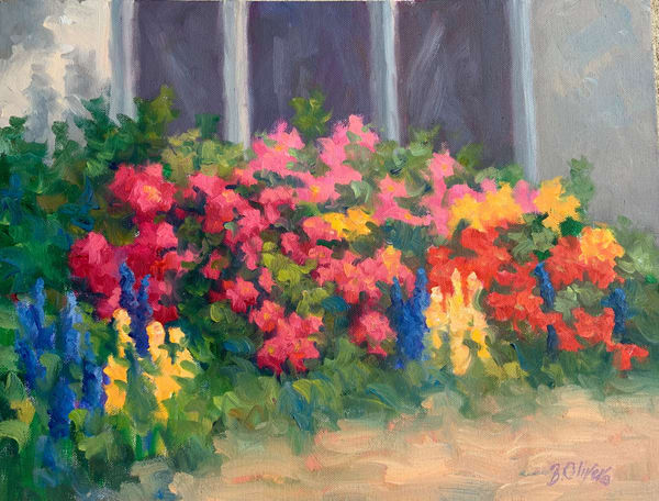 Front Porch Flowers Art | B. Oliver, Art