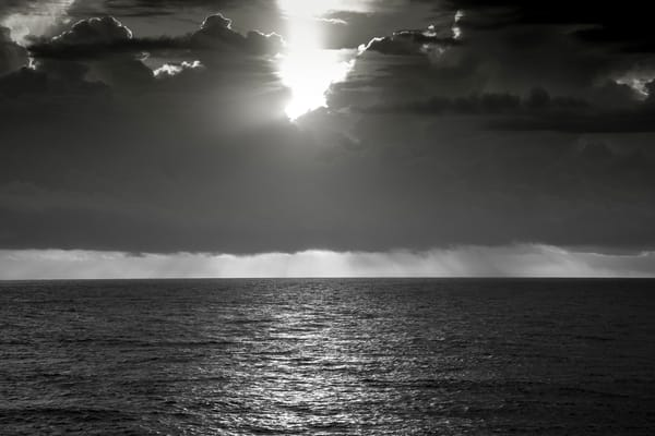 Sunset In The Storm Photography Art | Vincent DiLeo Fine Art Photography