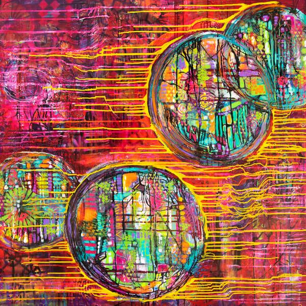 The Fighter Cells Art   Becka Watkins Art