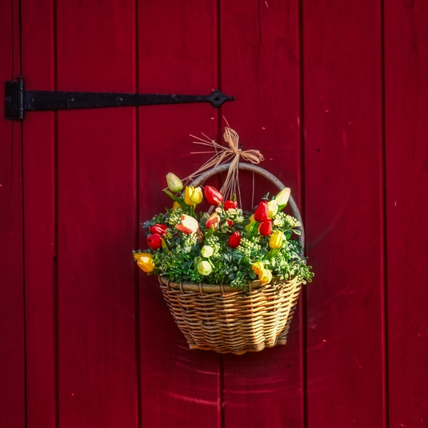 Country Door Flowers by Keith R Wahl, Made From RI Gallery