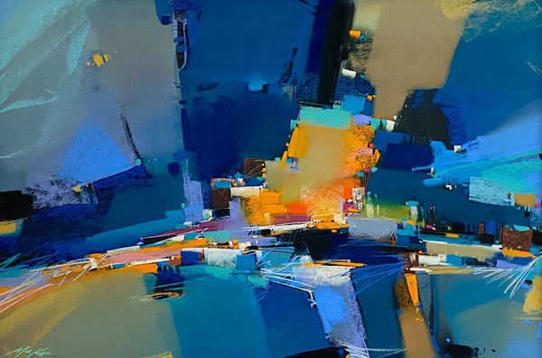 Blues Street #1 Art | Michael Mckee Gallery Inc.