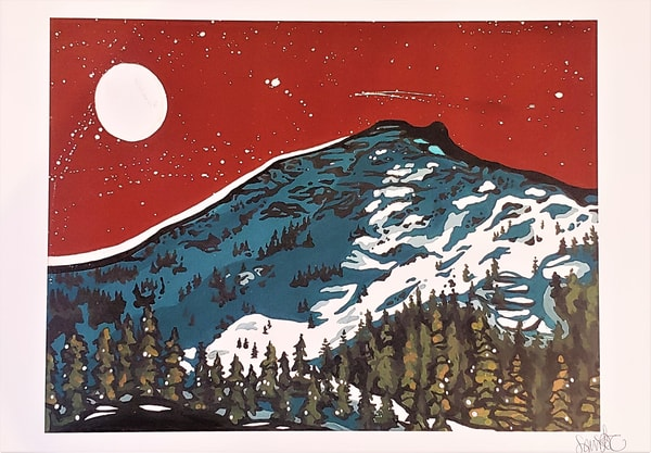 The Cirque Kirkwood Print