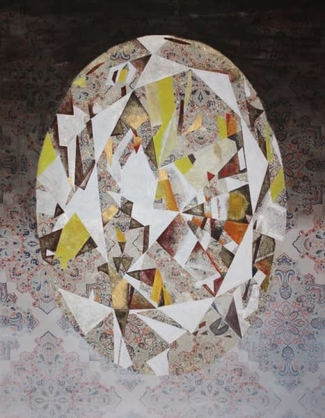 'Dazhbog' Fancy Intense Yellow Oval Diamond, Jewel Art by Upcycling Artist S.P. from Cool Art House