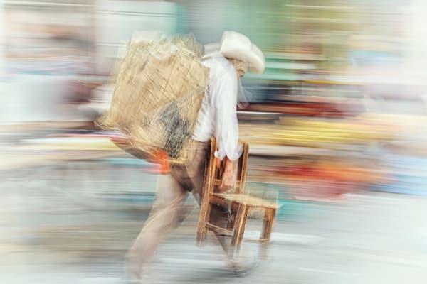 Chair To Market Art | Danny Johananoff