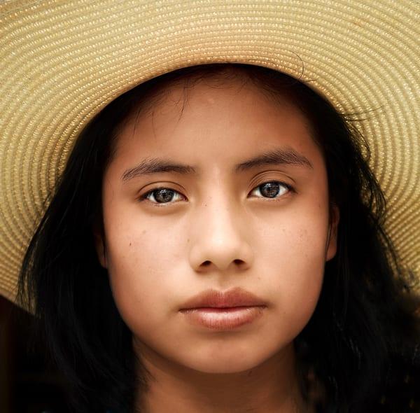 Oaxacan Girl Art   Danny Johananoff