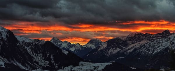 Swiss Skies Art | Danny Johananoff
