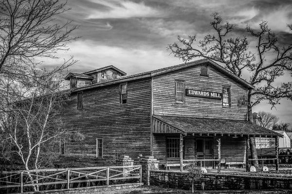 Edwards Mill, Mo. Photography Art | Creighton Images